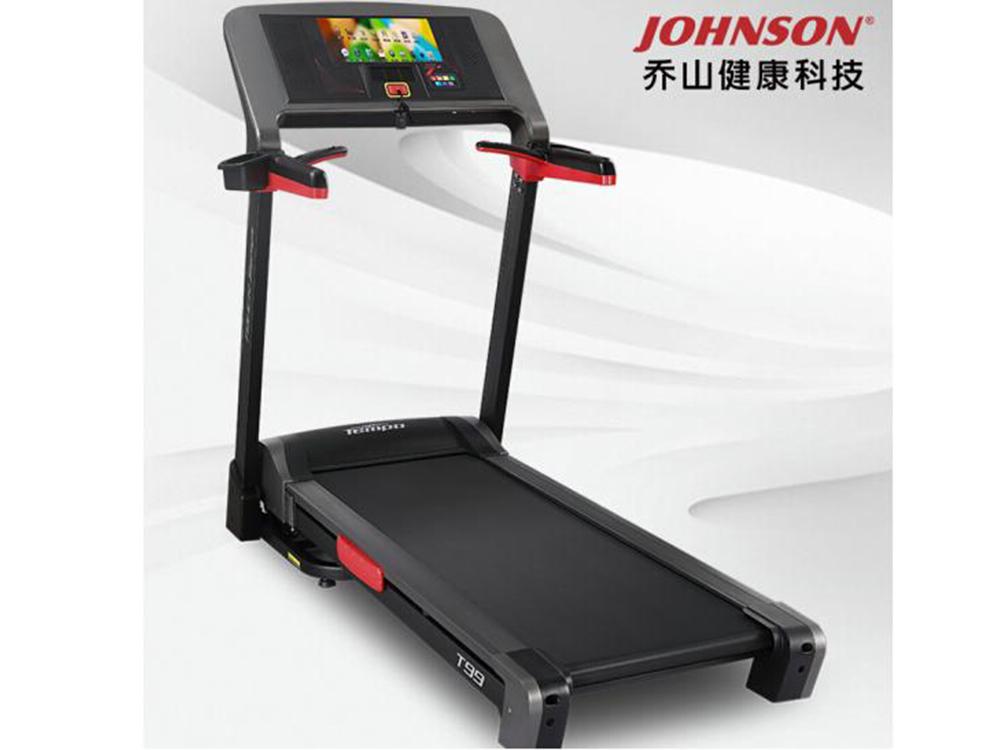 乔山亚博vip2019yabo90款新品T99触控屏可连WIFI运动健身器材