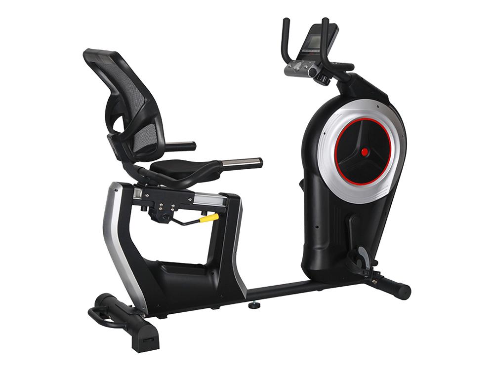 康乐佳K8742R卧式健身车脚踏车yabo90老年人健身自行车健身器材动感单车