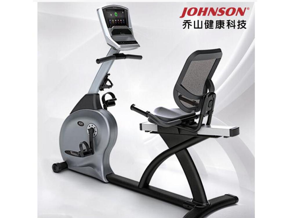 乔山健身车yabo90款R20高端卧式磁控制动 健身器材 运动器材