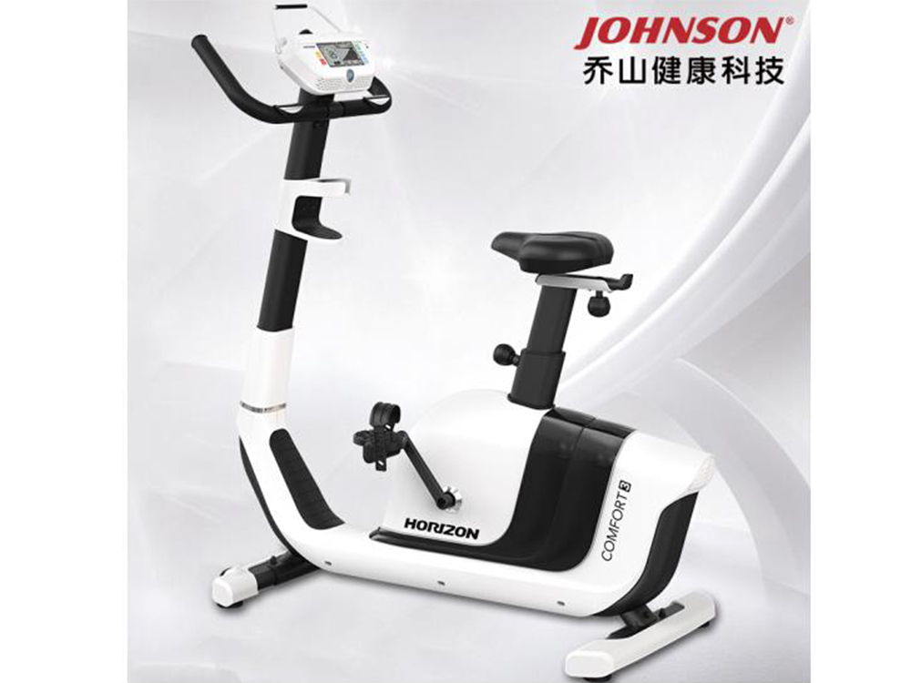 乔山健身车yabo90款COMFORT3电磁控静音 经典立式健身器材