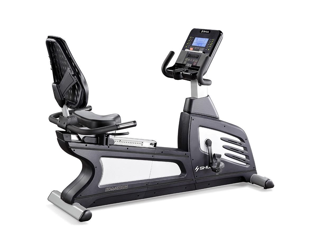 SH-A2100G商用自发电卧式健身车