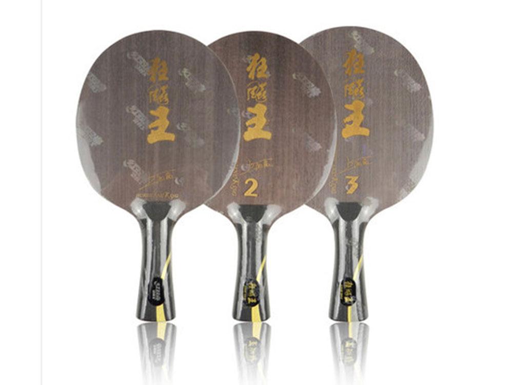 DHS红双喜新狂飙王(狂飚王,狂王)王励勤专用乒乓底板