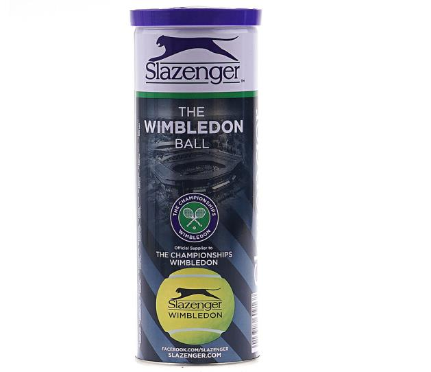 史莱辛格 Slazenger 2018新款网球 罐装铁罐网球 3粒桶